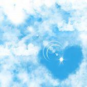 Illustration Of A Blue Sky