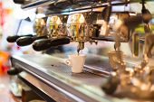 Vintage coffee machine.