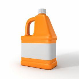 image of detergent  - Blank detergent bottle - JPG
