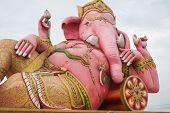picture of ganesh  - the beautiful Ganesh statue in temple thailand - JPG