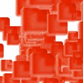 pic of hemoglobin  - Vector Abstract geometric background - JPG