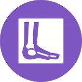 Постер, плакат: Foot X ray