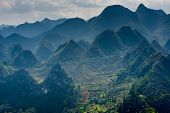 pic of plateau  - Dong Van Karst Plateau Global Geopark is located in the northeastern province of Viet Nam - JPG