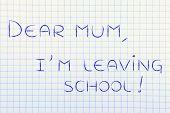 pic of mums  - important handwritten message - JPG
