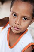 Young Asian Boy Portrait
