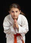 Chica de Karate