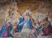 Easter Resurrection Mosaic St Marks, Venice, Italy