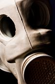 Old Gasmask Closeup