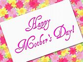 Flowery Mother'S Day Card