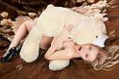 Naked Shocked Young Blonde