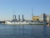 image of tyranny  - The Aurora Battleship in Saint Petersburg Russia - JPG