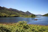 Canoeists on Loch Leven.