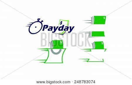 Payday Money Logo Design Template