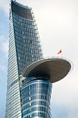 Ho Chi Minh City - December 18: The Bitexco Financial Tower Is The Tallest Building In Vietnam, Inau