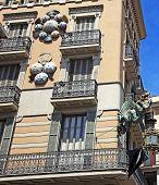 Umbrella factory in Barcelona