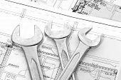 Spanners And House Plan
