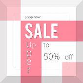 Super Sale Inscription, Design Template. Super Sale Banner poster