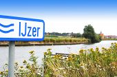 River IJzer in Flanders