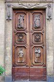Renaissance Italian Tuscan Wood Door