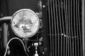 Headlight On Old Model T