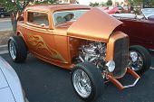 Hot Rod On Display