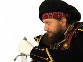 Scottish Warrior With Sword