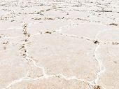 Close-up Of Salt Flats