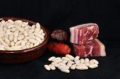 Asturian bean stew.
