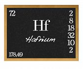 Hafnium.