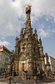 The Holy Trinity Column In Olomouc