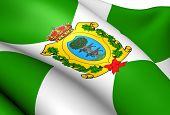 Bandeira de Durango, no México.