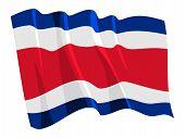 Ilustração da série de bandeiras nacionais
