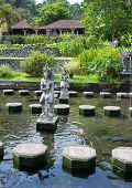 Bali Indonesia Imperial swimming baths (Taman Tirta Gangga)