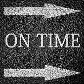 Op tijd