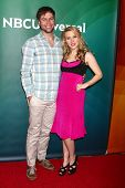 LAS VEGAS - APR 22:  Taran Killam, Kate McKinnon at the NBCUniversal Summer Pres Day 2013 at the Hun