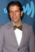 LOS ANGELES - APR 20:  Perez Hilton arrives at the 2013 GLAAD Media Awards at the JW Marriott on Apr