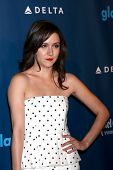 LOS ANGELES - APR 20:  Shannon Woodward arrives at the 2013 GLAAD Media Awards at the JW Marriott on