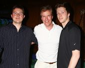 LOS ANGELES - APR 15:  Jack Wagner, with sons Harrison and Peter at the Jack Wagner Celebrity Golf T