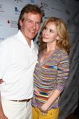 LOS ANGELES - APR 15:  Jack Wagner, Ashley Jones at the Jack Wagner Celebrity Golf Tournament benefi