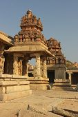 Detail Of The Krishna Temple In Hampi