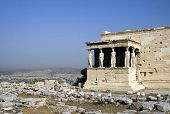 stock photo of akropolis  - The Parthenon in the Akropolis - JPG