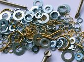 The Mixed Components: Washers And Hooks
