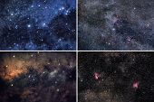 Space Backgrounds Set