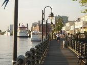 Wilmington Waterfront weergave