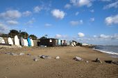 Thorpe Bay Sea Front, Near Southend- On-sea, Essex, England