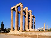 picture of olympian  - Ruins of The Temple of Olympian Zeus - JPG