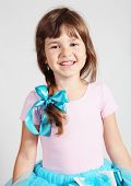 Little Girl Smiling Portrait