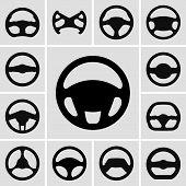 Ícones de volantes