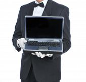 Butler con Laptop