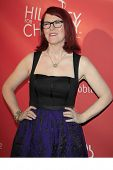 LOS ANGELES - APR 25:  Kate Flannery arrives at the Second Annual Hilarity For Charity benefiting Th